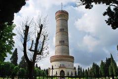 Monumentalt torn av San Martino della Battaglia fotografering för bildbyråer