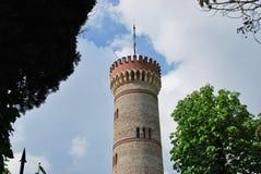 Monumentalt torn av San Martino della Battaglia royaltyfri bild
