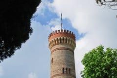 Monumentalt torn av San Martino della Battaglia royaltyfria foton