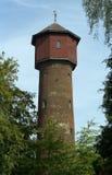 Monumentalt vatten-torn i Wolfheze royaltyfri foto