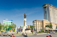 MonumentBuon Me Thuot. Monument of the city center Buon Ma Thuot, Vietnam Royalty Free Stock Images