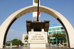 MonumentBuon Me Thuot. Monument of the city center Buon Ma Thuot, Vietnam Royalty Free Stock Photography