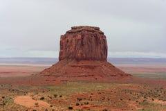 Monumentdal, Arizona och Utah, USA Arkivbilder