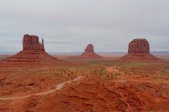 Monumentdal, Arizona och Utah, USA Fotografering för Bildbyråer