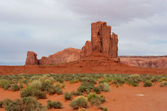Monumentdal, Arizona och Utah, USA Royaltyfria Bilder