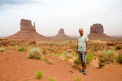 Monumentdal - Arizona, USA Royaltyfri Foto