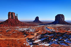 Monumentdal, Utah USA Fotografering för Bildbyråer