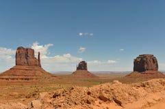 Monumentdalpanorama, Utah Arkivbild