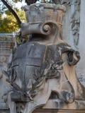 MonumentDes-mobiler, Marseille royaltyfri foto