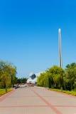 Monumente in Brest-Festung Lizenzfreie Stockfotografie