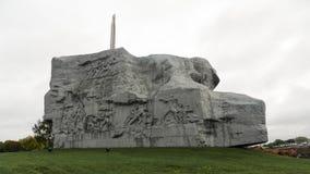 Monumente der Brest-Festung in Weißrussland Lizenzfreies Stockfoto