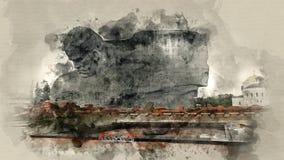 Monumente der Brest-Festung in Weißrussland Lizenzfreie Stockfotografie