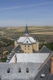 Monumente der Stadt von Segovia, der wirkliche Alcazar, Spanien Stockbilder