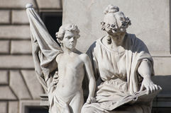 Monumente von Rom Stockfotos