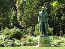 Monumente von Wien, Österreich, ein klarer sonniger Tag lizenzfreie stockfotos