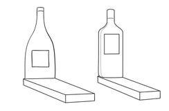 Monumenten aan alcoholisten. Royalty-vrije Stock Fotografie