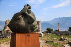 Monumenten in Athene Stock Afbeelding