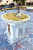 Monumenten en beeldhouwwerken Griekenland, Chania, Kreta Royalty-vrije Stock Foto