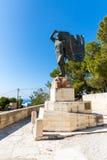 Monumenten en beeldhouwwerken Griekenland, Chania, Kreta Stock Fotografie