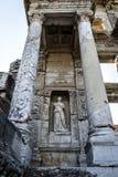 Monumenten Ephesus, het landschap van Turkije stock afbeelding