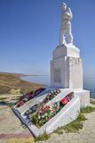 Monumenten gevallen militairen in Wereldoorlog II Royalty-vrije Stock Afbeeldingen