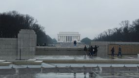 Monumenten op Capitol Hill stock afbeeldingen