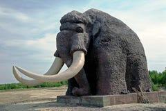 Monumenten polaire mammoet Royalty-vrije Stock Fotografie