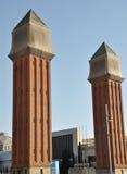 Monumenten Spanien Arkivfoto