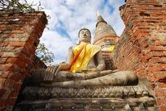 Monumenten van Boedha, Thailand Royalty-vrije Stock Foto's