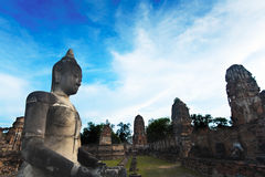 Monumenten van buddah THAILAND Stock Foto's