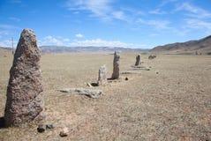 Monumenten van oude beschaving in Azië royalty-vrije stock afbeelding