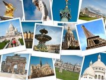Monumenten van Parijs stock fotografie