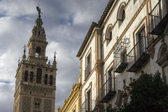Monumenten van Sevilla, Andalusia Stock Fotografie