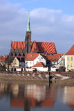 Monumenten in Wroclaw, Polen Royalty-vrije Stock Foto