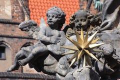 Monumenten in Wroclaw, Polen stock foto's