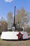Monumentenartilleristen - Vologda-wachten van hemel binnen Grote Patriottische Oorlog Stock Fotografie