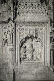 Monumentendubbelpunt. In 1893 werd dit plein genoemd Plein DE Colon aan c Royalty-vrije Stock Foto