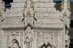 Monumentendubbelpunt. In 1893 werd dit plein genoemd Plein DE Colon aan c Royalty-vrije Stock Fotografie