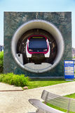 Monumentenmetro in Istanboel Royalty-vrije Stock Afbeeldingen