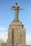 Monumentenmoeder Armenië in Yerevan Stock Foto's