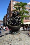 Monumentenschip VAN DWAZEN in Nuremberg, Duitsland stock foto's