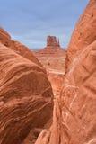 Monumentenvallei Stock Foto
