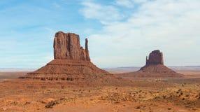Monumentenvallei Stock Afbeelding