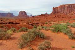 Monumentenvallei, Arizona en Utah, de V.S. Royalty-vrije Stock Foto