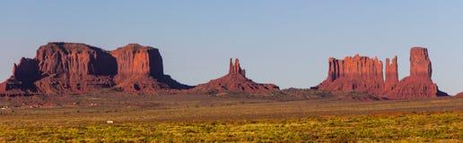 Monumentenvallei, rotsvorming Stock Afbeelding