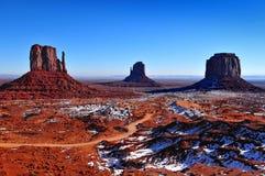 Monumentenvallei, Utah de V.S. Stock Afbeelding