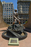 Monumentet av soldaten i Buenos Aires Arkivbild