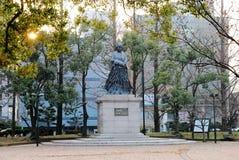 Monumentet i Nagasaki fred parkerar royaltyfri bild