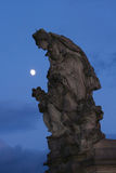 Monumentet på Charles överbryggar Arkivfoton
