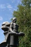 Monumentet på massgravarna av 62 soldater av det historiska minnes- komplexet för armé till hjältar av den Stalingrad striden Arkivfoton